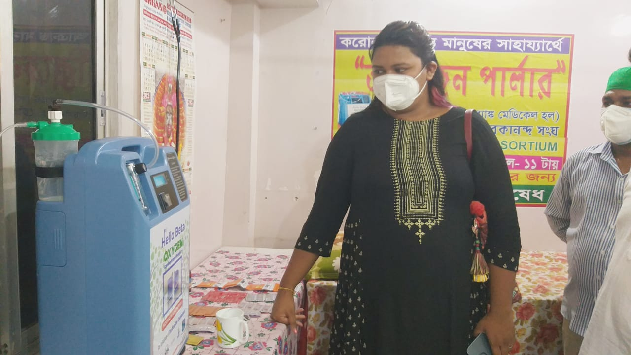 Oxygen Concentrator Provided By Mukti At Dholahat